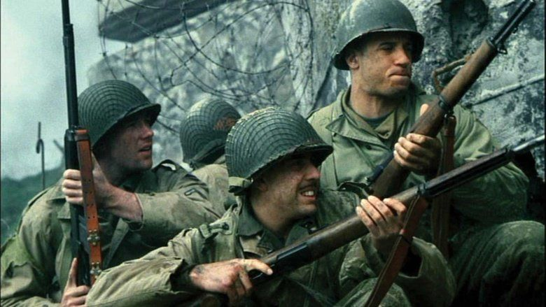 Saving Private Ryan movie scenes