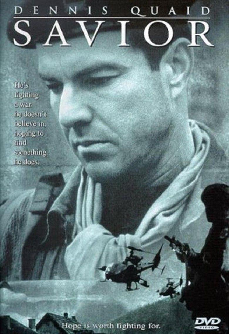 Savior (film) movie poster
