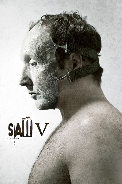 Saw V movie poster