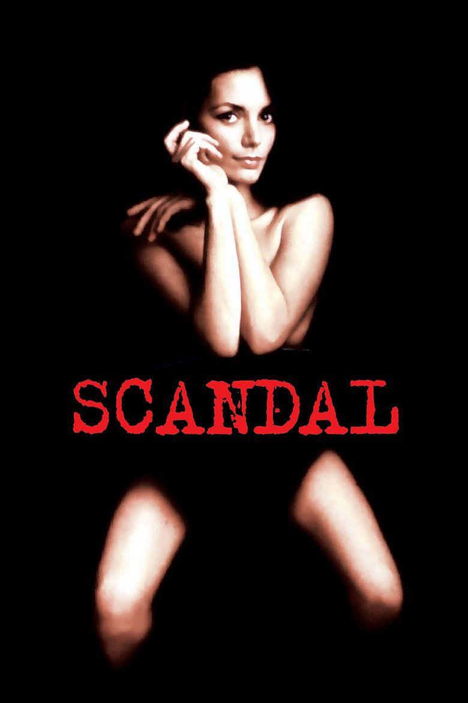 Scandal (1989 film) movie poster