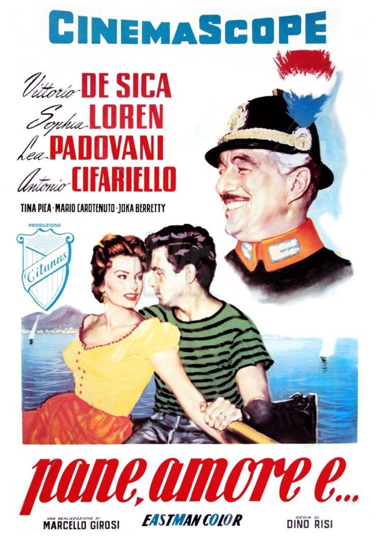 Scandal in Sorrento movie poster