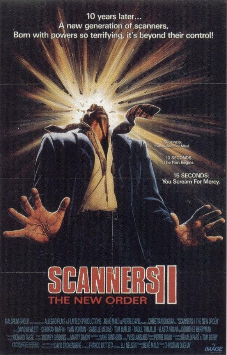 Scanners II: The New Order movie poster