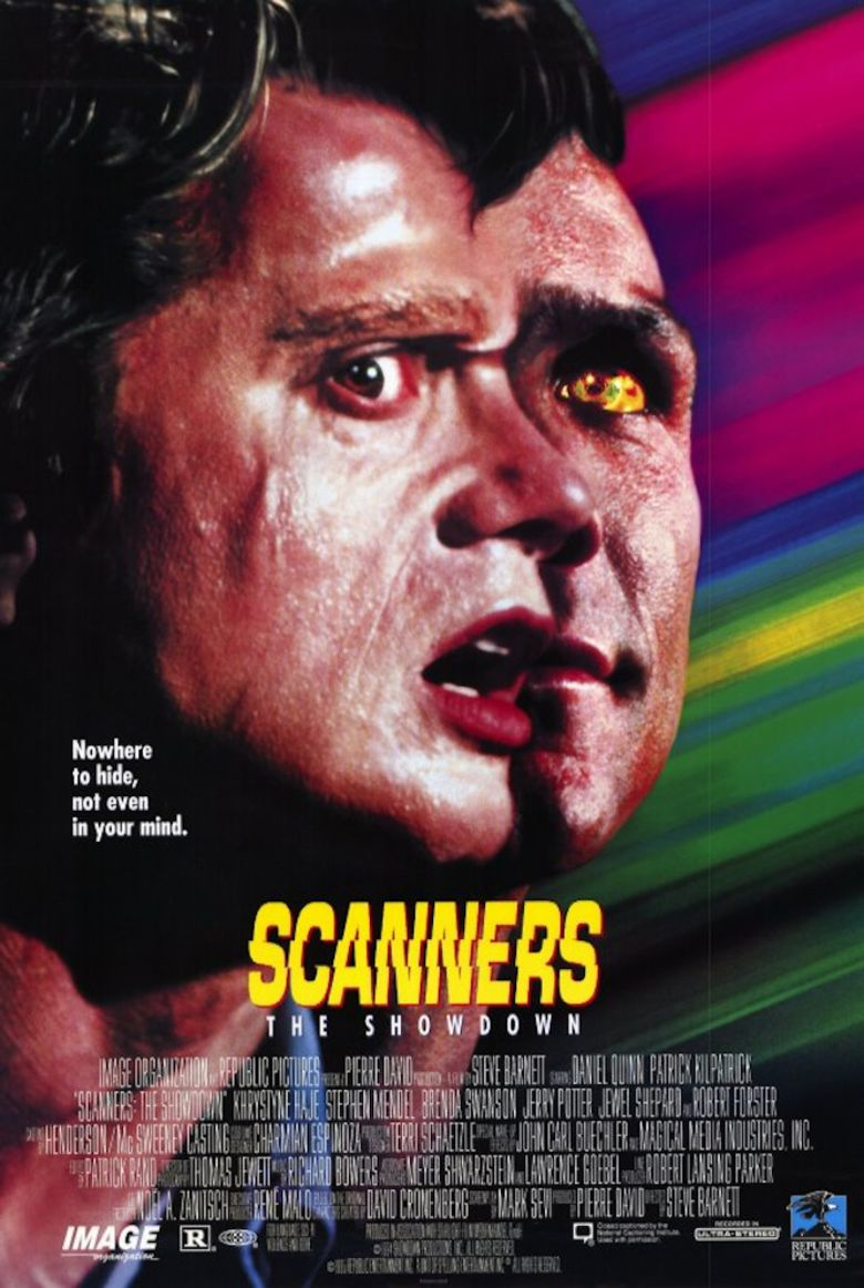 Scanners: The Showdown movie poster