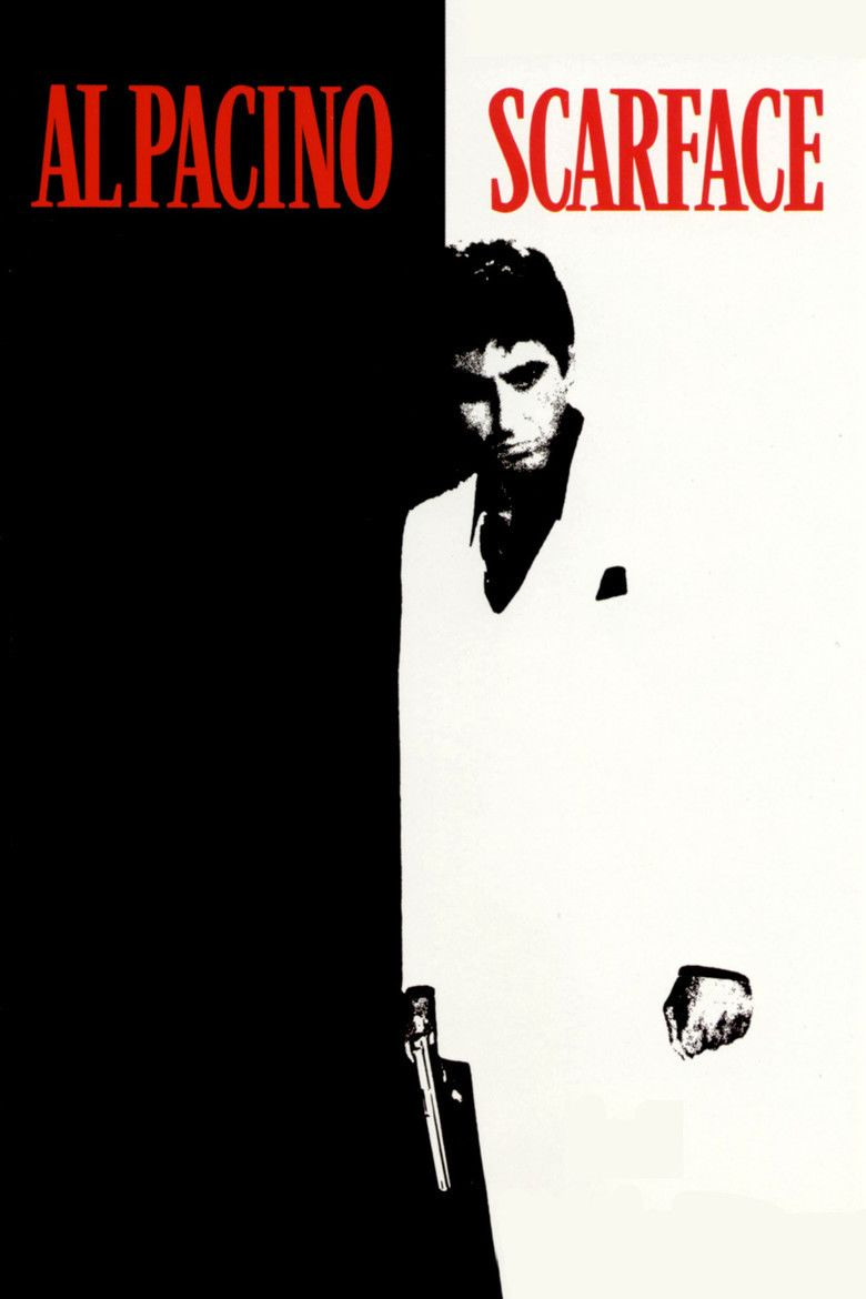 Scarface (1983 film) movie poster