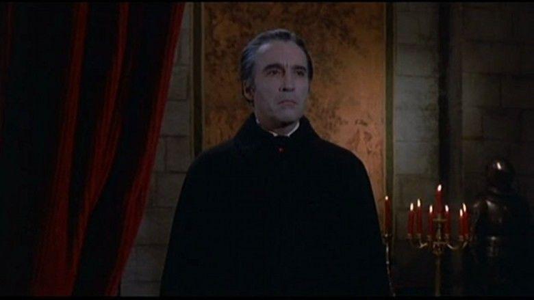 Scars of Dracula movie scenes