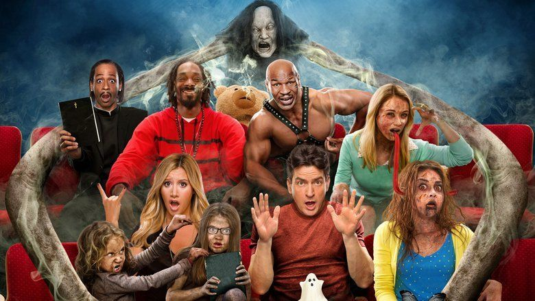 Scary Movie 5 movie scenes