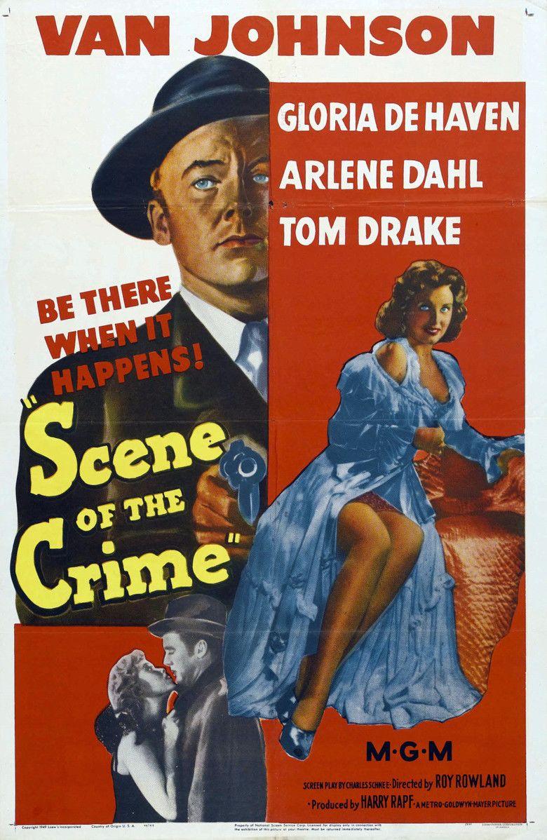 Scene of the Crime (1949 film) movie poster