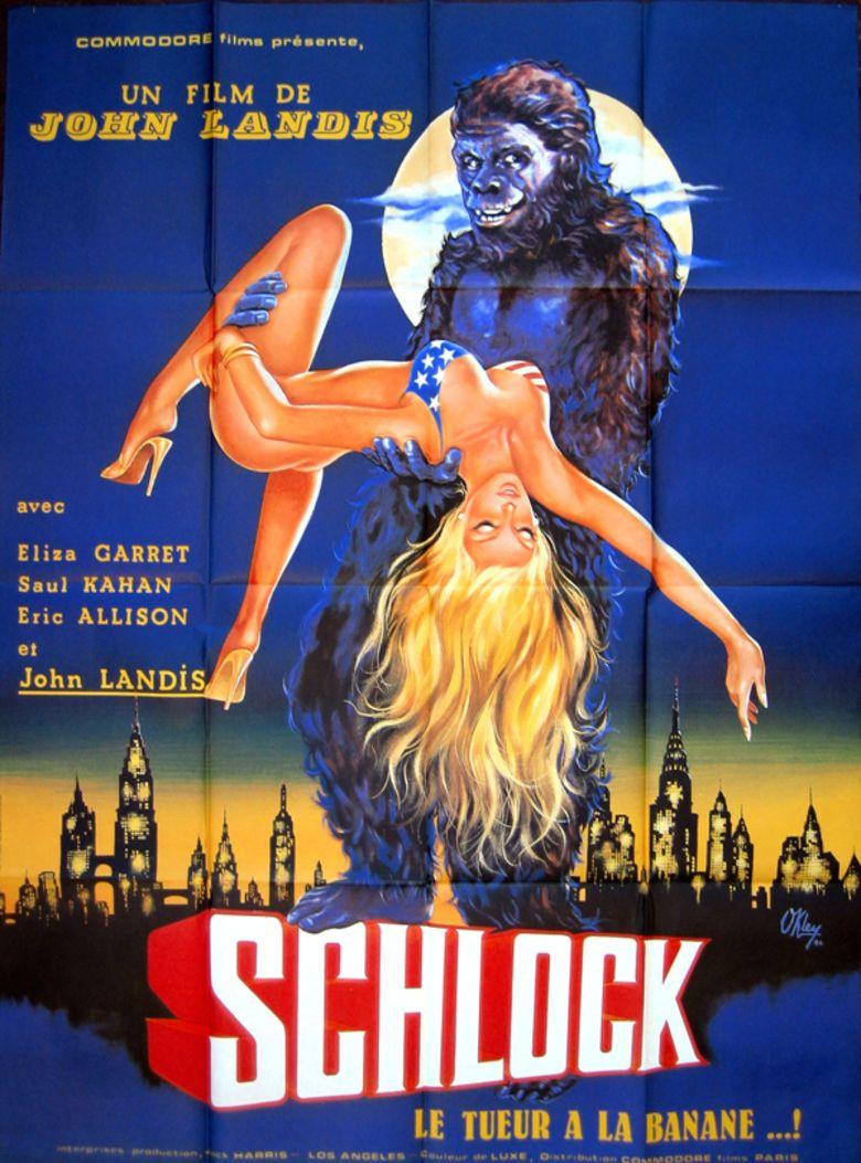 Schlock (film) movie poster