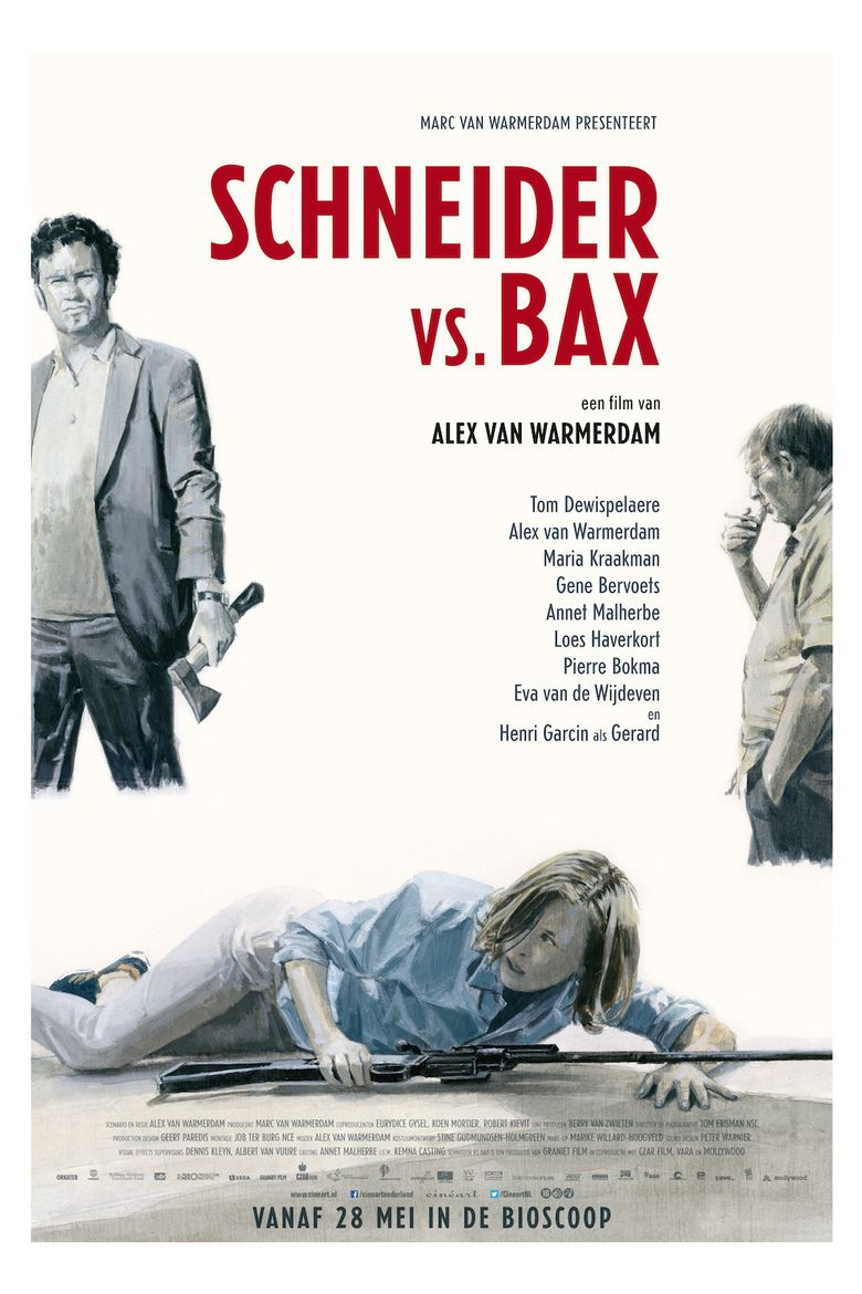 Schneider vs Bax movie poster