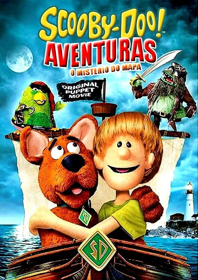 Scooby Doo! Adventures: The Mystery Map movie poster