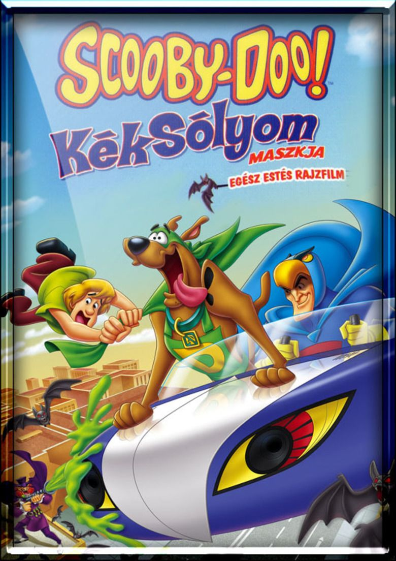 Scooby Doo! Mask of the Blue Falcon movie poster