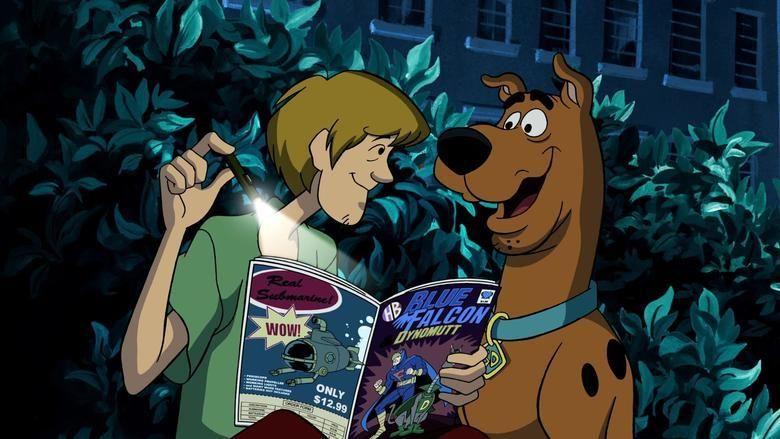 Scooby Doo! Mask of the Blue Falcon movie scenes