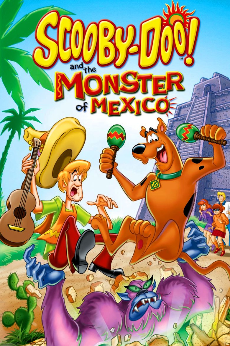 Scooby Doo! and the Monster of Mexico movie poster
