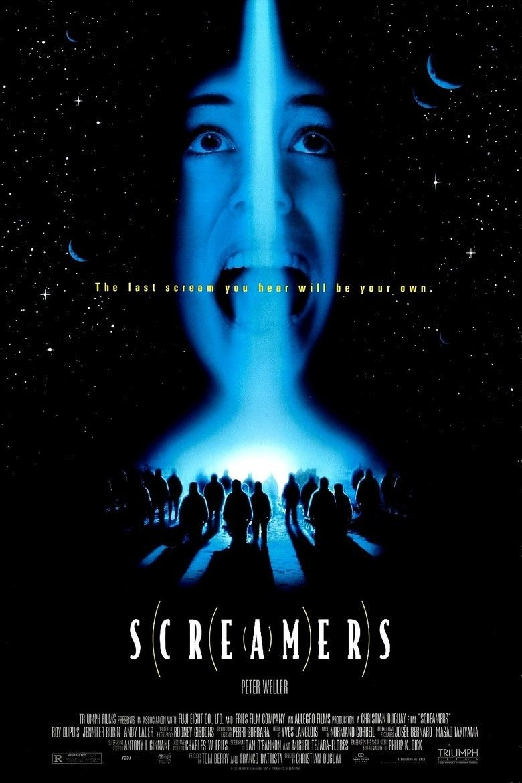 Screamers (1995 film) movie poster