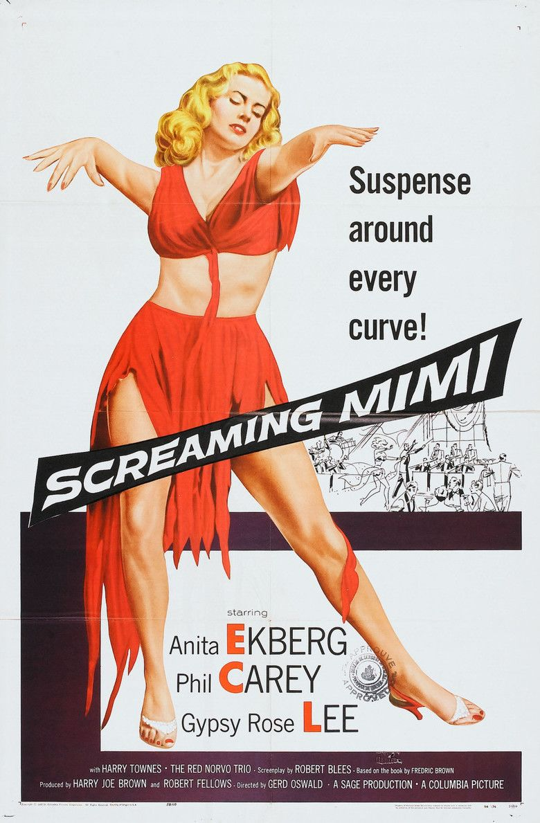 Screaming Mimi (film) movie poster