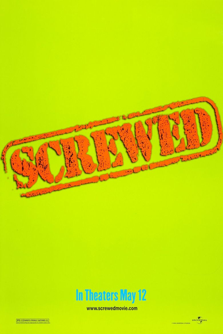 Screwed (2000 film) movie poster