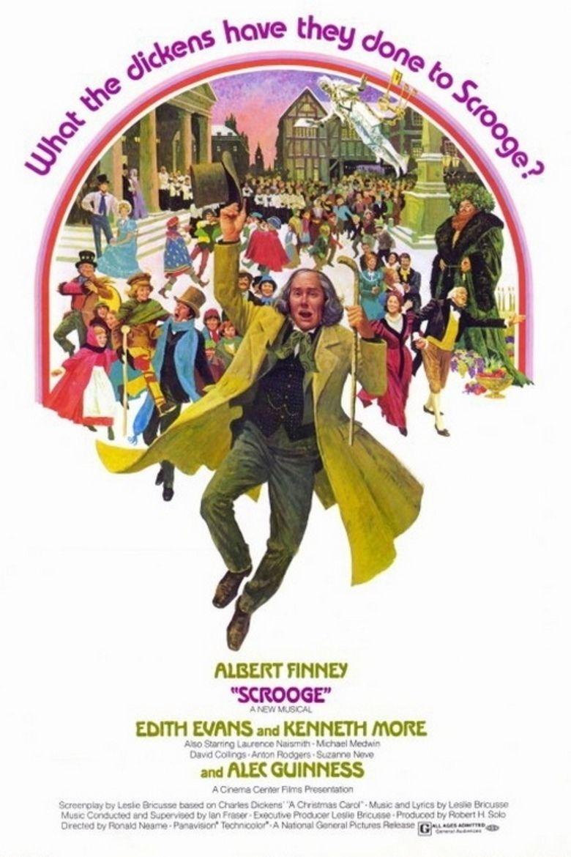 Scrooge (1970 film) movie poster