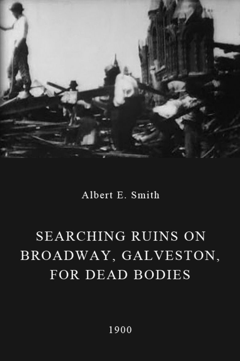 Searching Ruins on Broadway, Galveston, for Dead Bodies movie poster