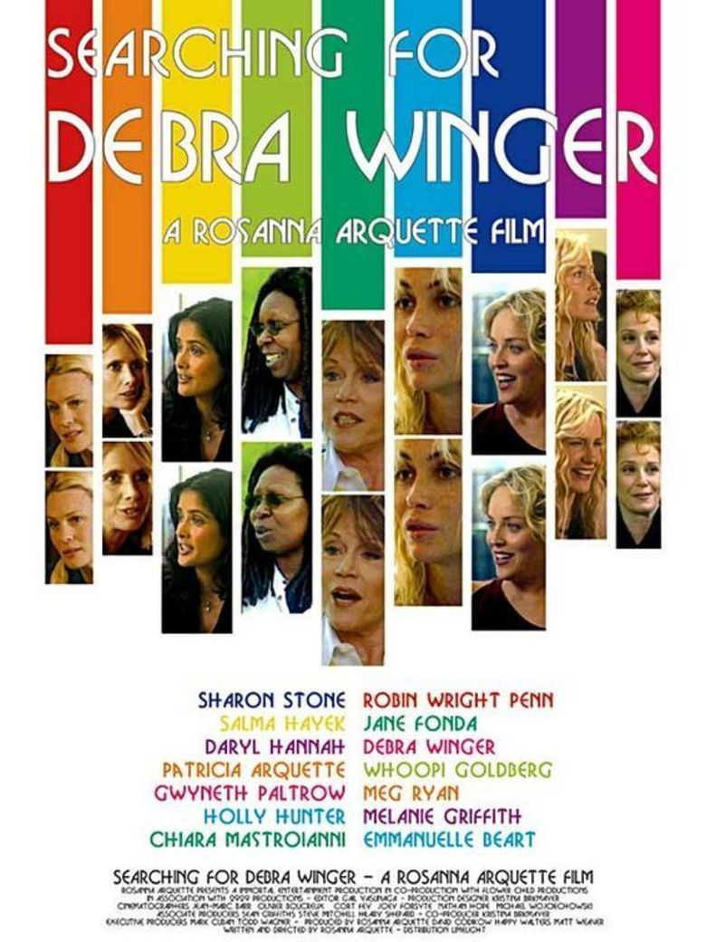 Searching for Debra Winger movie poster