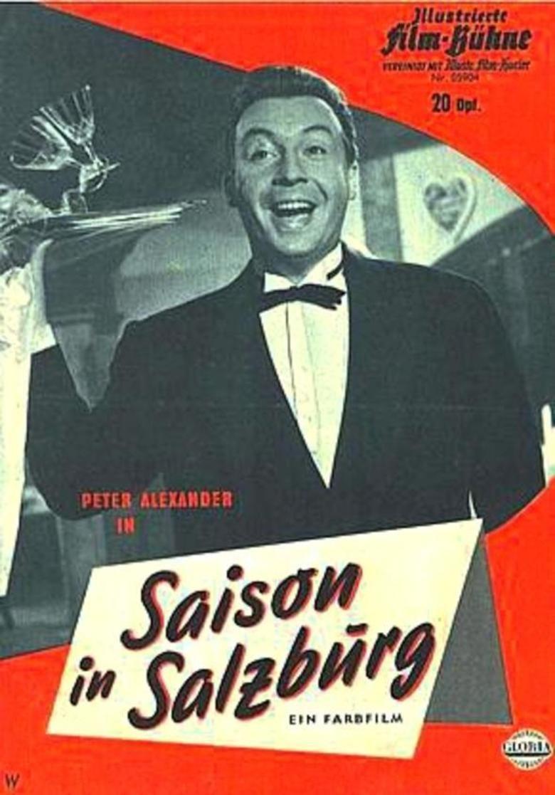 Season in Salzburg (1961 film) movie poster