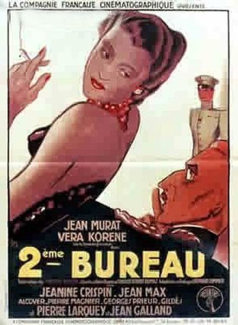 Second Bureau (1935 film) movie poster