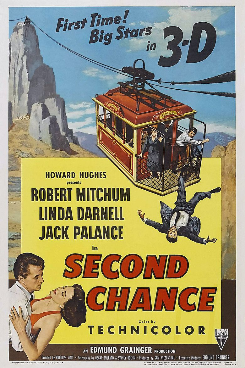 Second Chance (1953 film) movie poster
