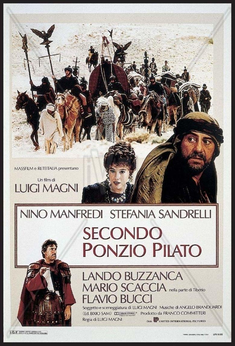 Secondo Ponzio Pilato movie poster