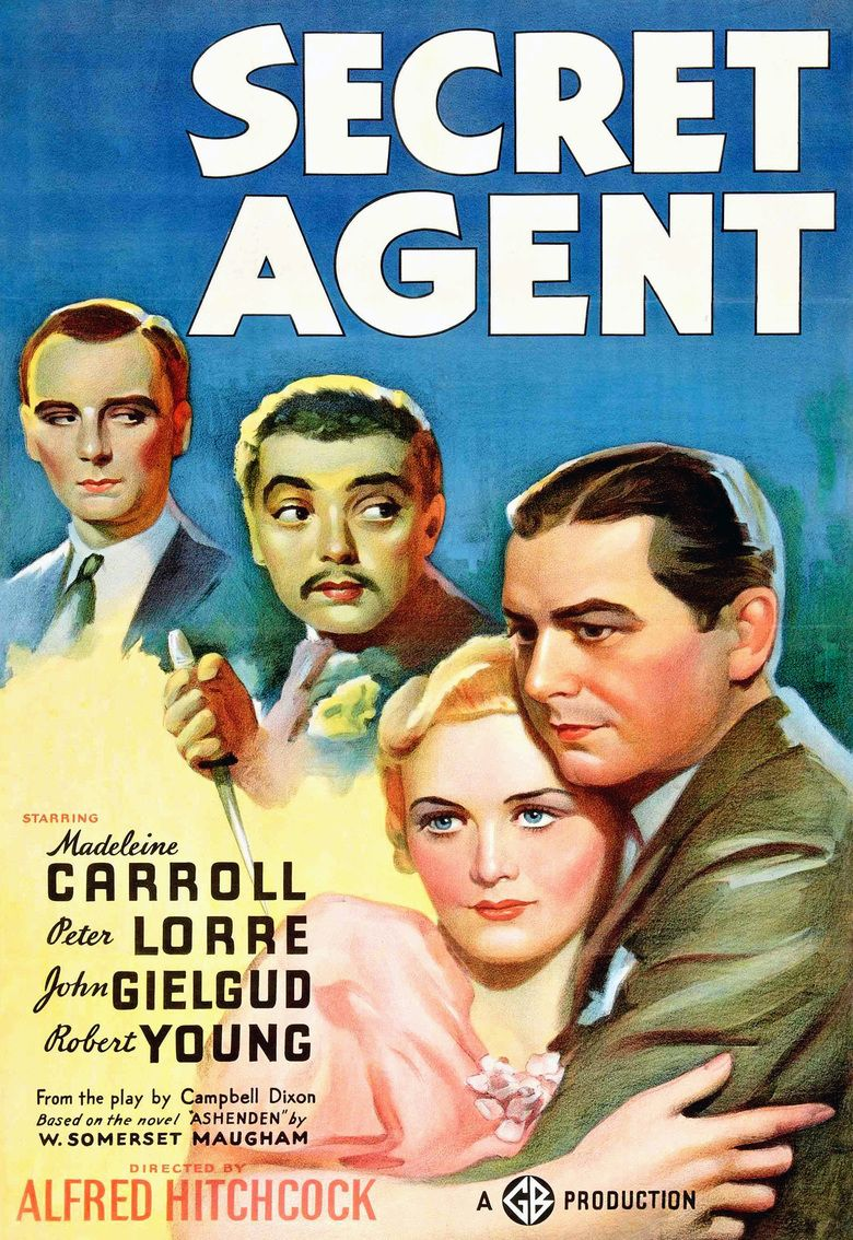 Secret Agent (1936 film) movie poster