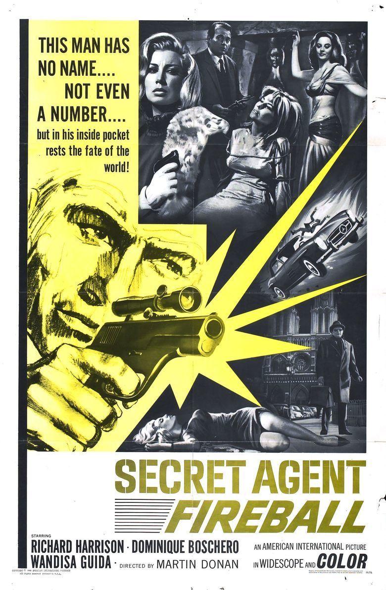 Secret Agent Fireball movie poster