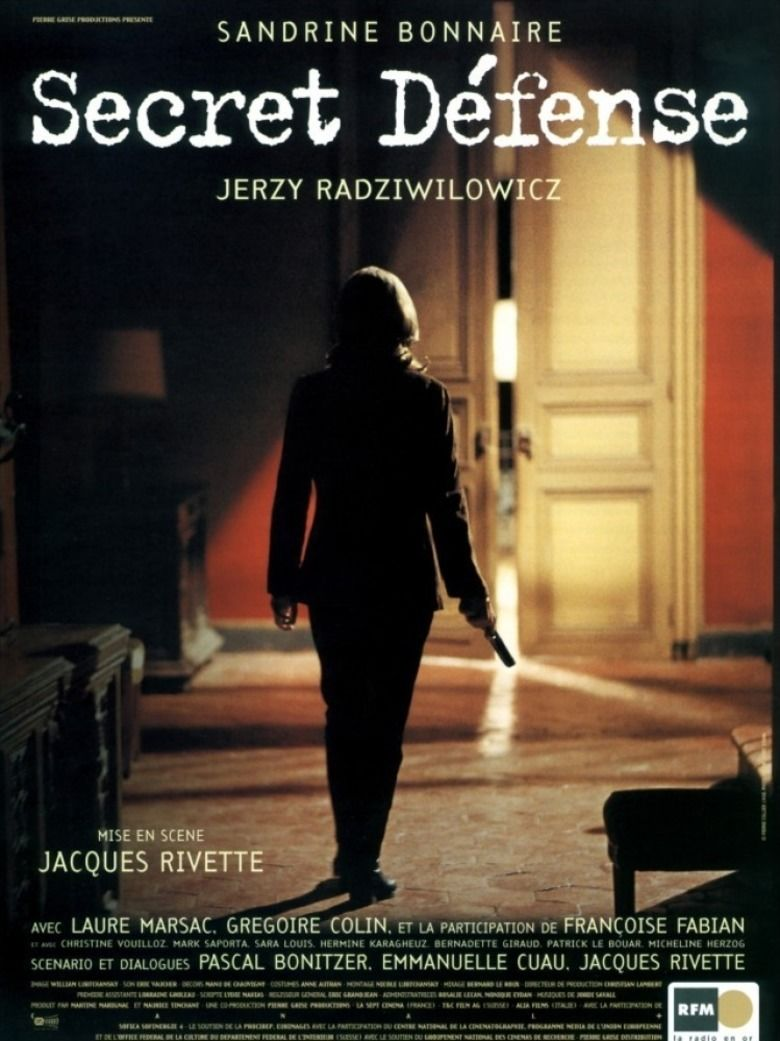 Secret Defense (1998 film) movie poster