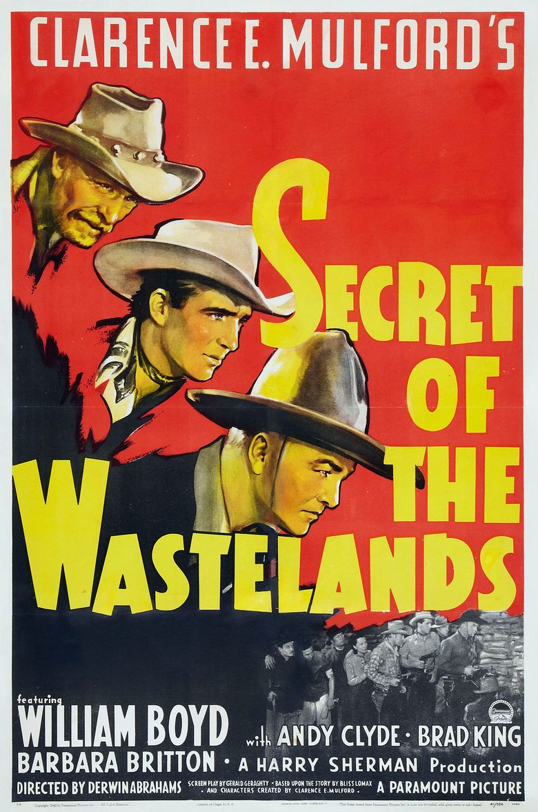 Secret of the Wasteland movie poster