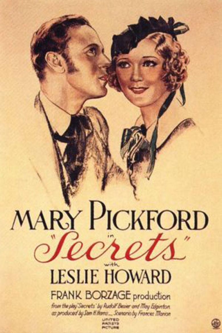 Secrets (1933 film) movie poster