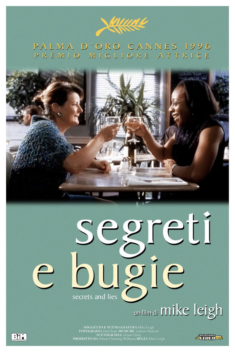 Secrets and Lies (film) movie poster