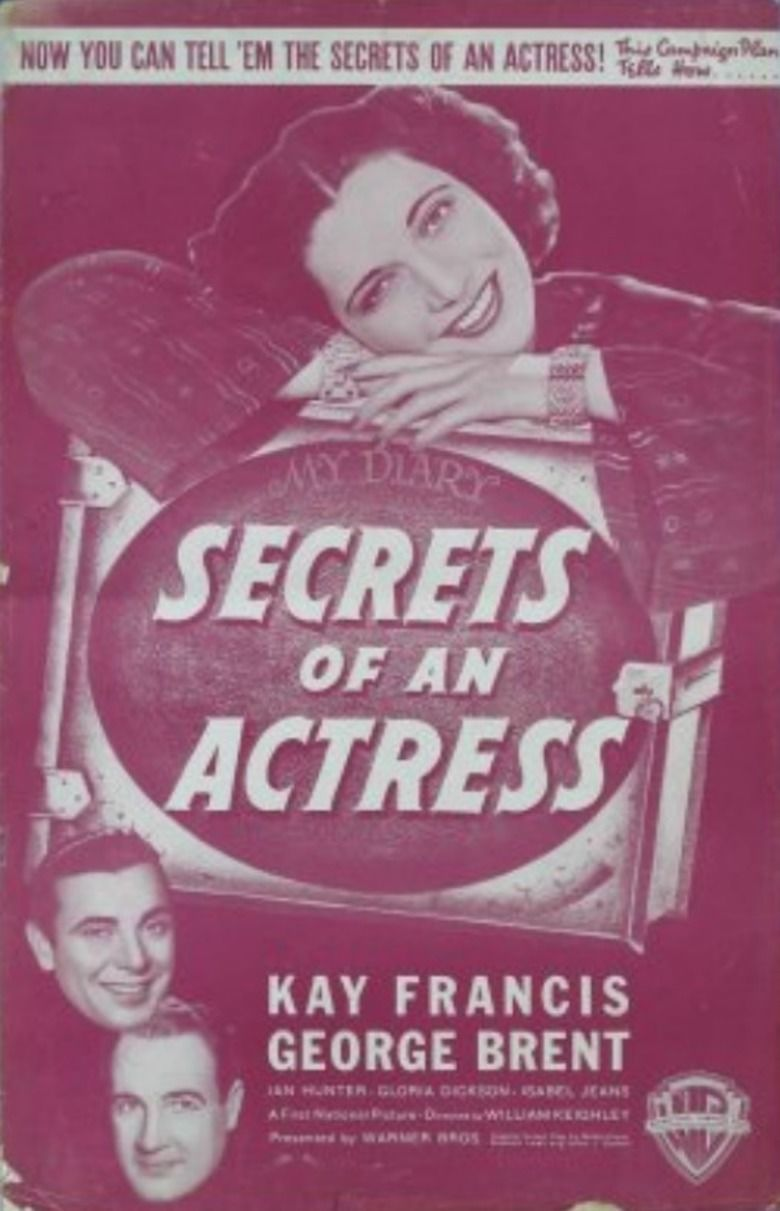 Secrets of an Actress movie poster