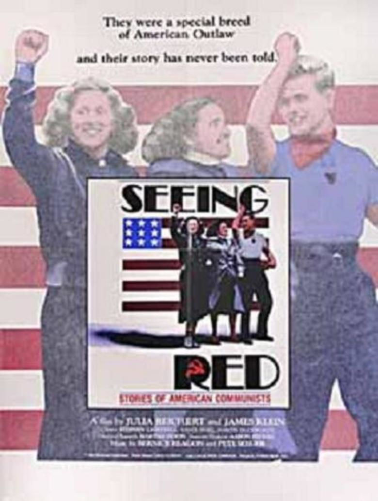Seeing Red (1983 film) movie poster