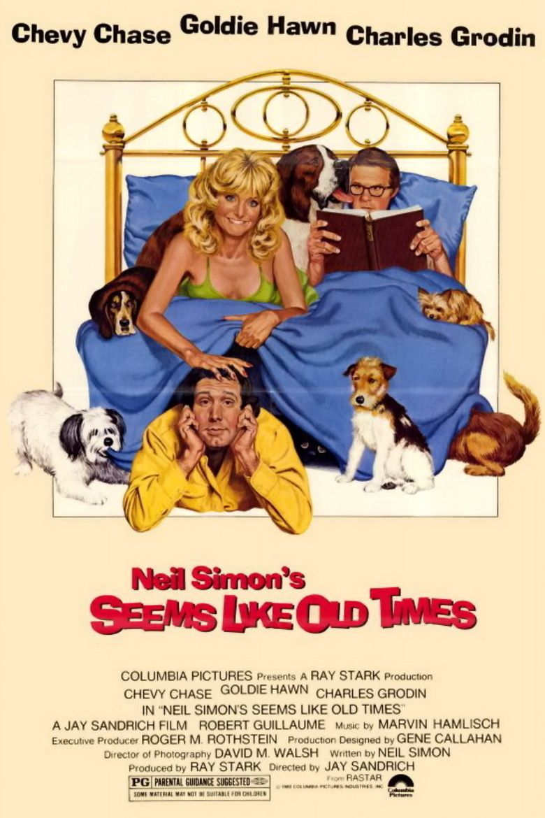Seems Like Old Times (film) movie poster