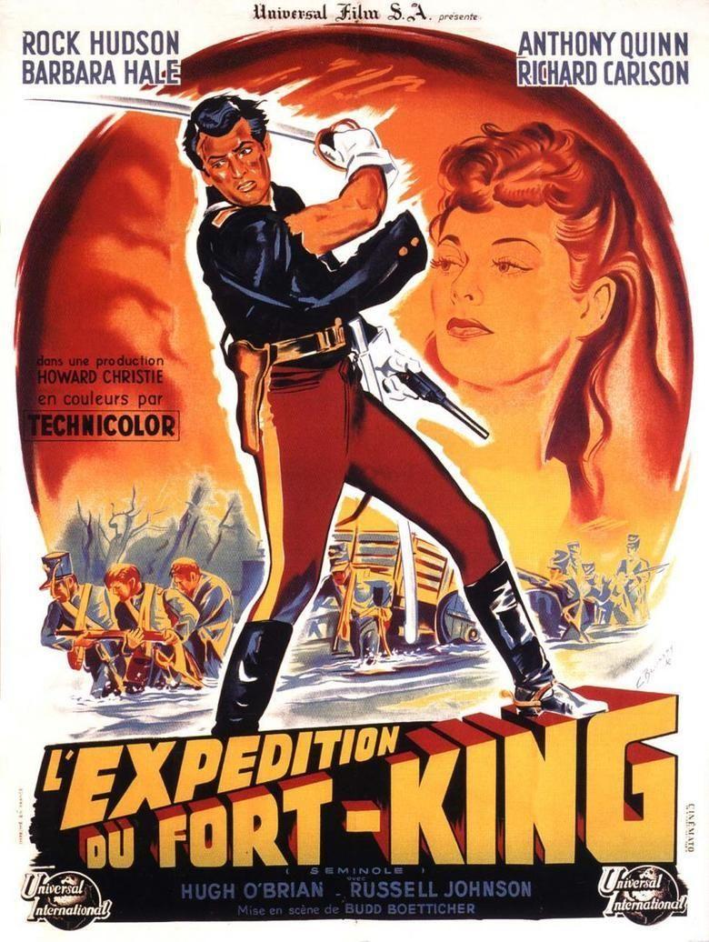 Seminole (film) movie poster
