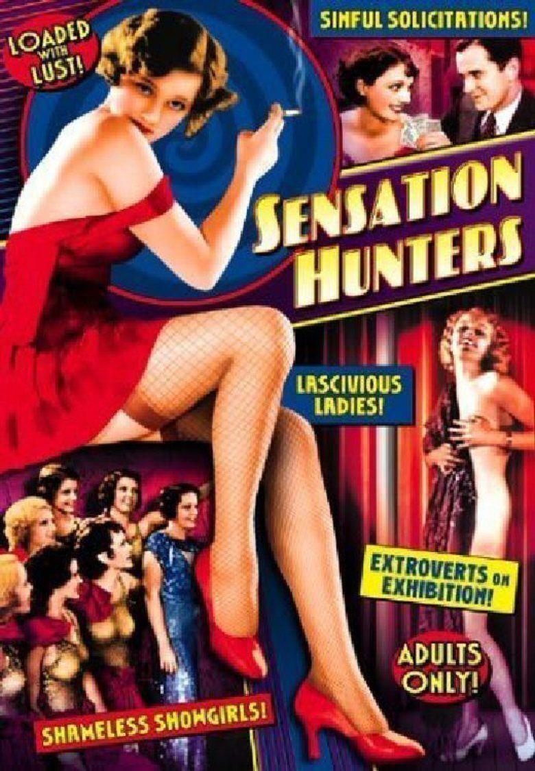 Sensation Hunters (1933 film) movie poster