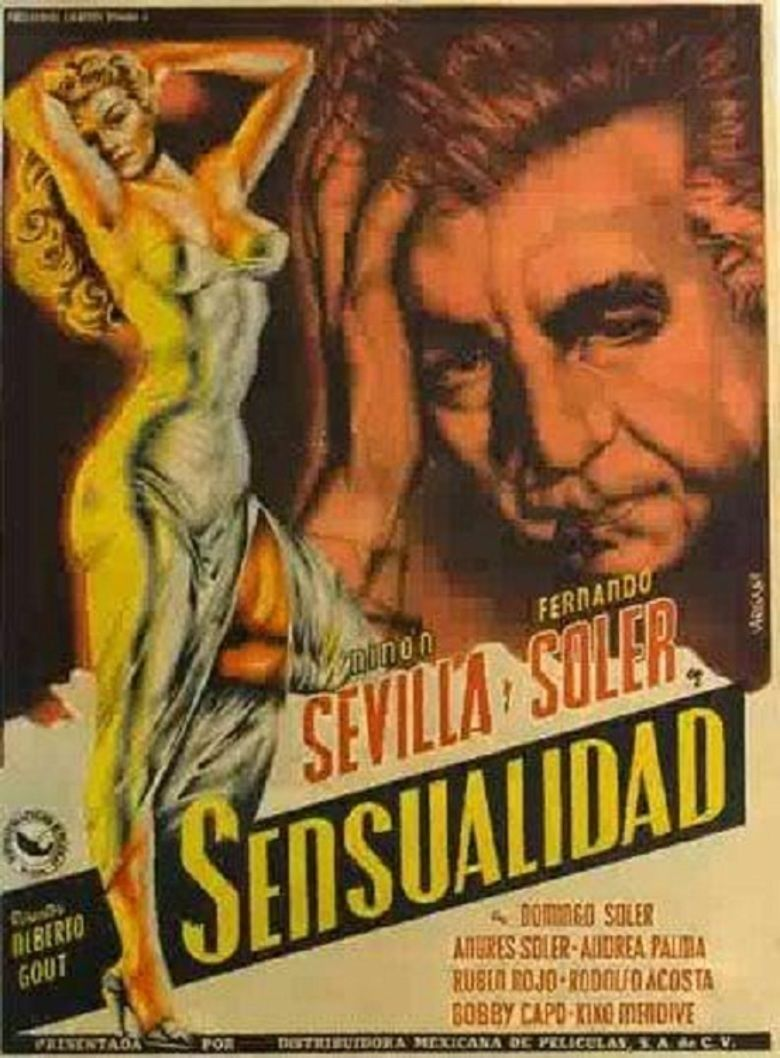 Sensualidad (film) movie poster
