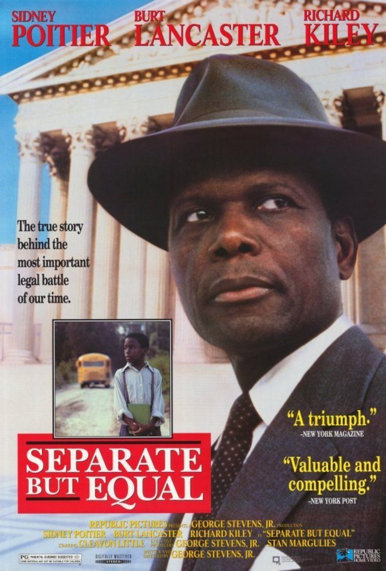 Separate but Equal (film) movie poster