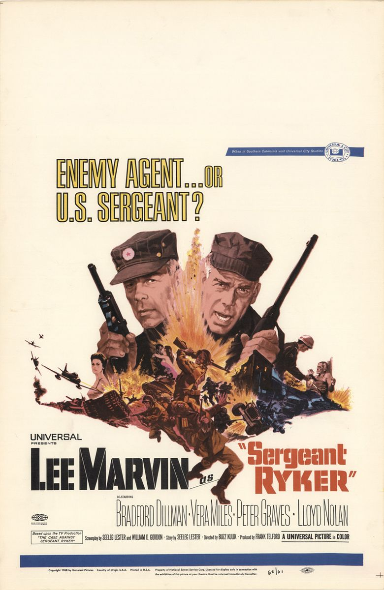 Sergeant Ryker movie poster