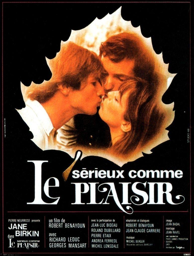 Serious as Pleasure movie poster