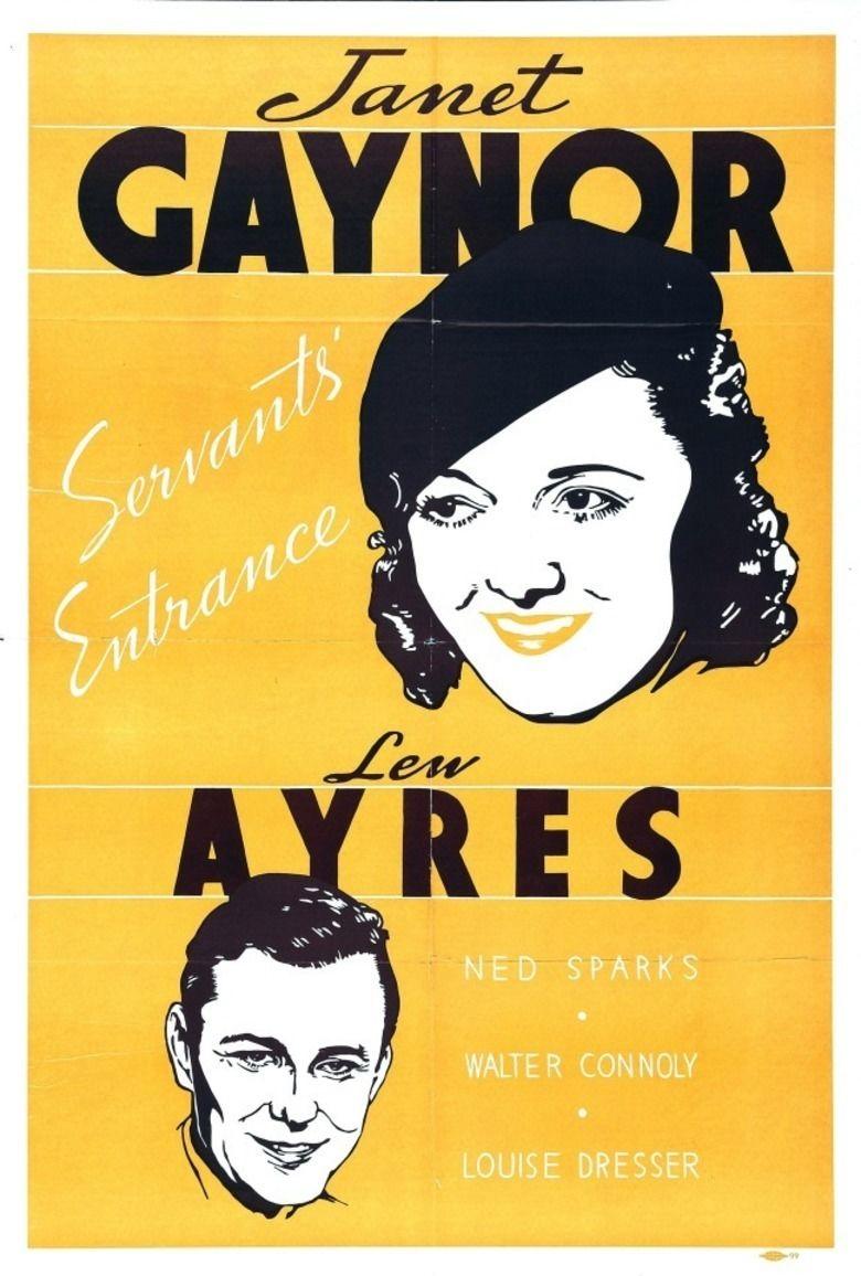 Servants Entrance movie poster