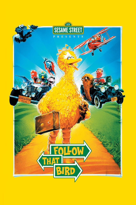 Sesame Street Presents Follow That Bird movie poster