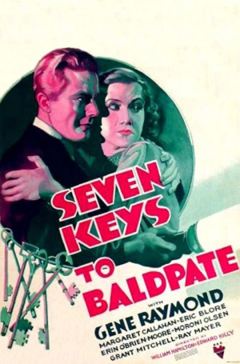 Seven Keys to Baldpate (1935 film) movie poster
