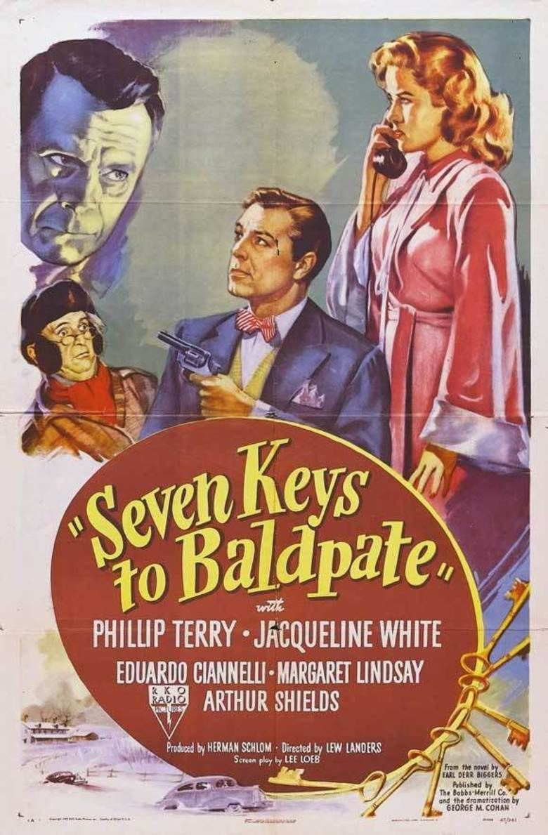 Seven Keys to Baldpate (1947 film) movie poster