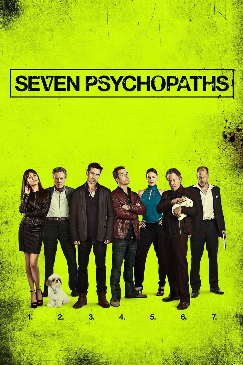 Seven Psychopaths movie poster
