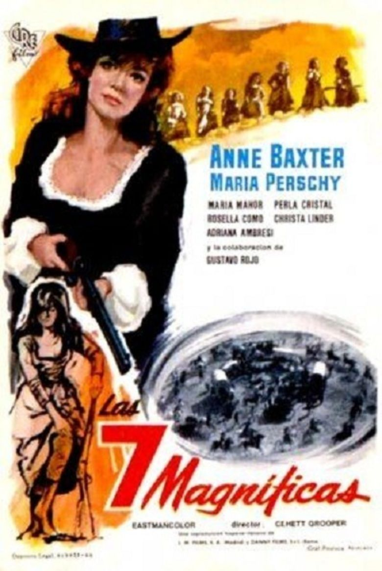 Seven Vengeful Women movie poster