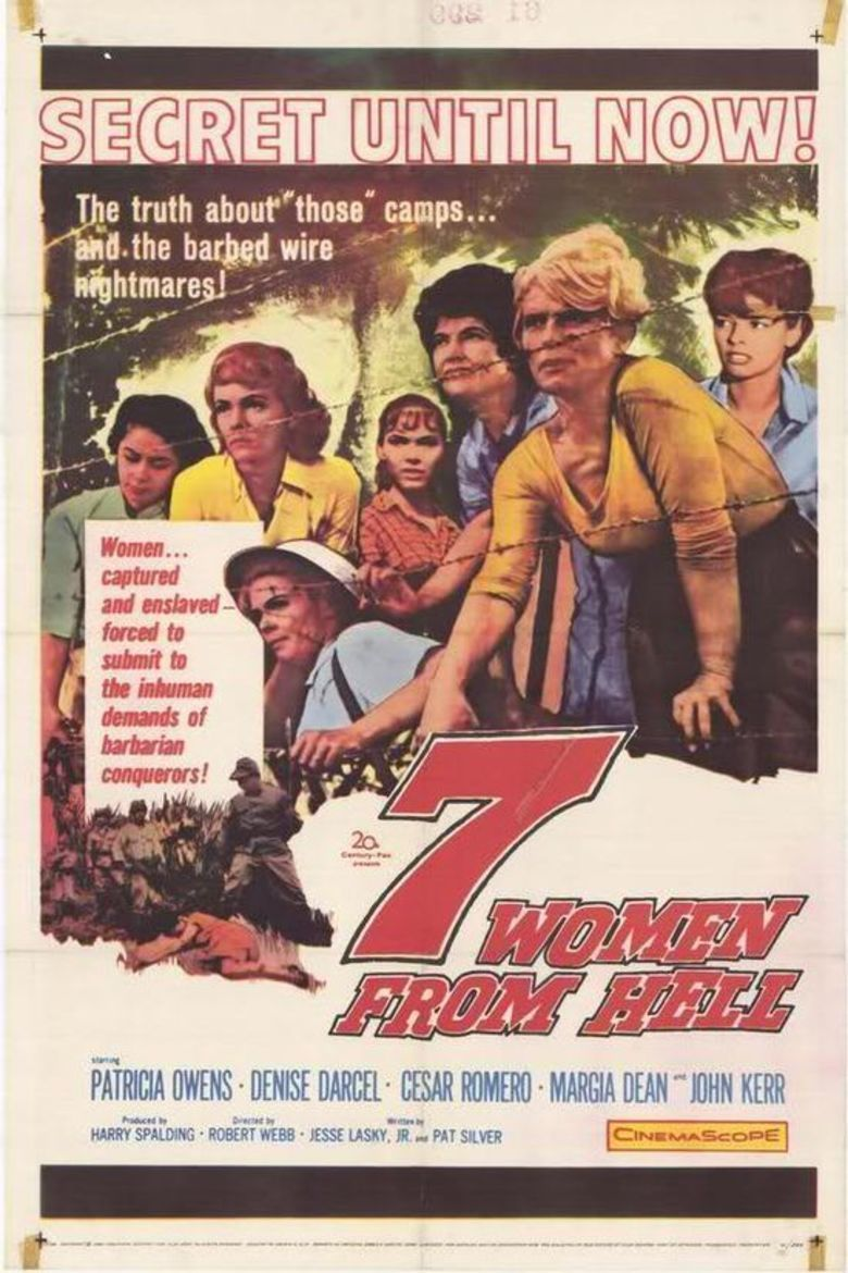 Seven Women from Hell movie poster