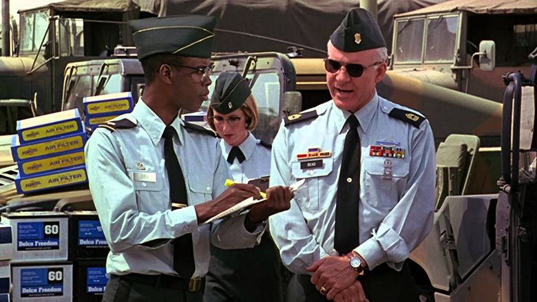 Sgt Bilko movie scenes